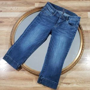 KUT from the Kloth Distressed Cropped Jeans 25